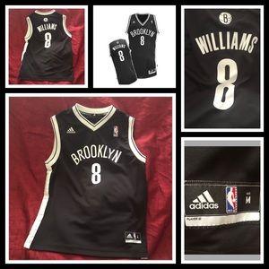 Adidas Brooklyn Nets Jersey 8 Williams